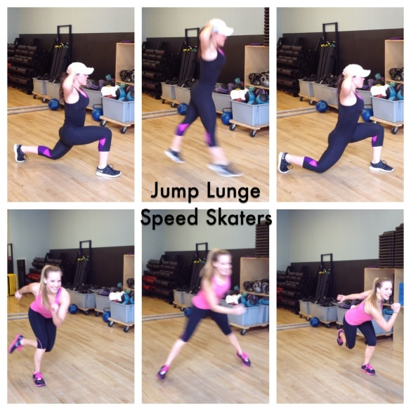 Some of my favorite plyometrics!