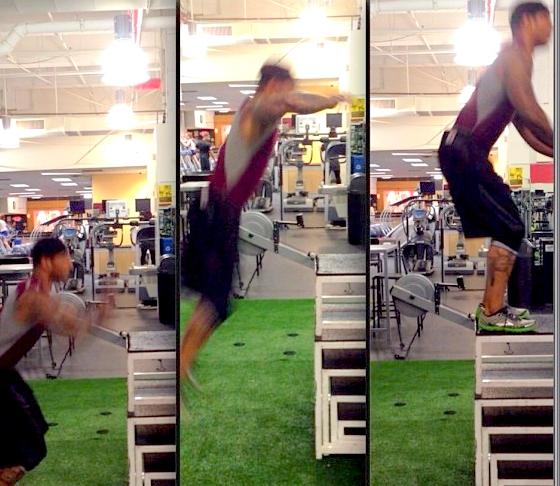 1-D box jump (2)