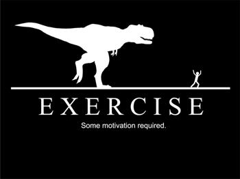 motivation t-rex